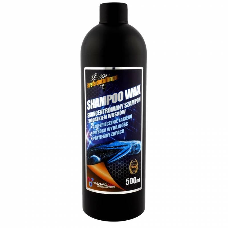 shampoo wax, szampon do mycia samochodu z woskiem