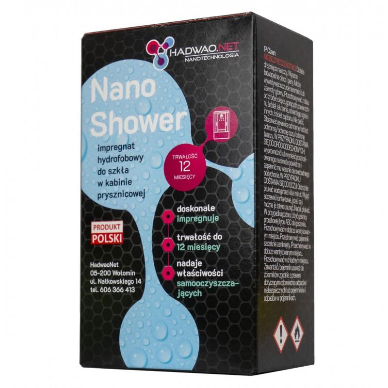 nano shower hadwao preparat do zabezpieczania szklanych kabin prysznicowych
