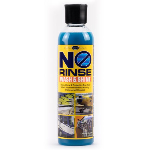 Szampon bez spłukiwania no rinse wash shine optimum opt