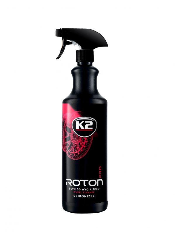 k2 roton płyn do mycia felg z efektem krwawej felgi