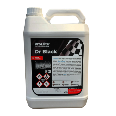 ProElite dressing do opon i plastiku Dr Black 5L