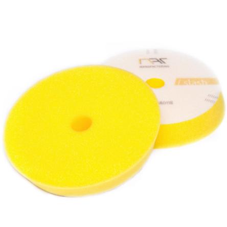 NAT średnio twardy pad polerski żółty Slash DA 150mm
