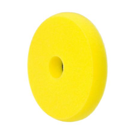NAT średnio twardy pad polerski żółty DA 135x25mm