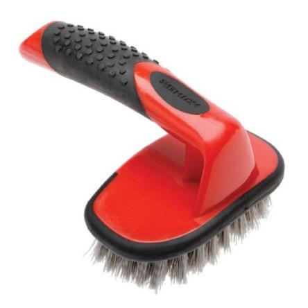 Mothers Contoured Tire Brush twarda szczotka do mycia opon