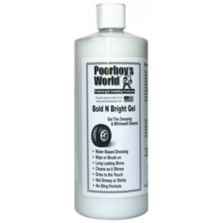 Poorboy's World dressing do opon Bold N Bright Gel 946 ml
