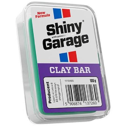 Shiny Garage Clay Bar Fine glinka do lakieru 100g
